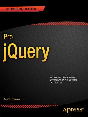 Pro Jquery By Freeman, Adam